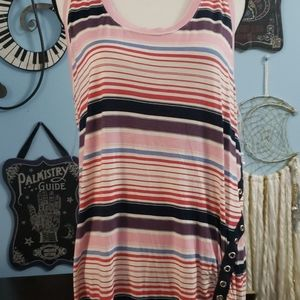 Maurices Striped Tabk Top sz 1X, NWOT